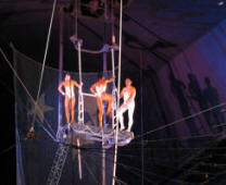 Circus Circus Adventure Dome Trapeze Artists