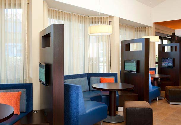 Courtyard by Marriott Media Pods