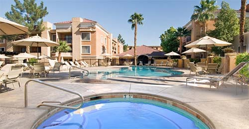 Desert Rose Resort Pool