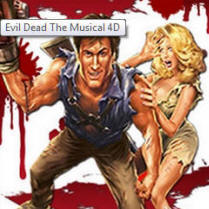 Evil Dead The Musical 4D Las Vegas Best Shows