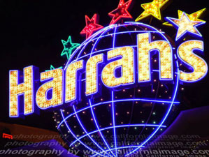 Harrah's Sign