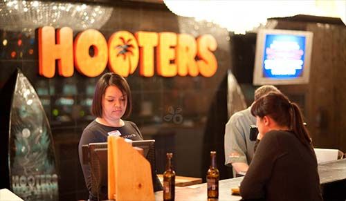 Hooters Hotel and Casino Front Desk