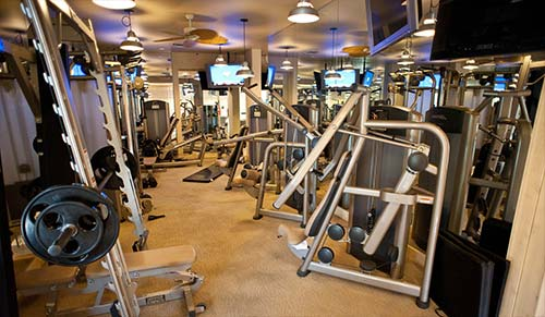 Hooters Hotel and Casino Fitness Center