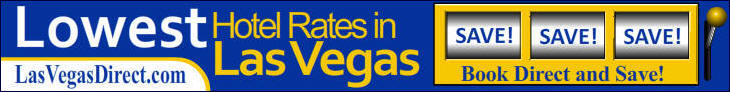 Las Vegas Direct Discount Hotel Reservations