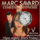 Marc Savard Comedy Hypnosis Las Vegas