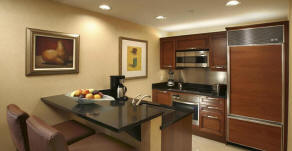 Signature Suites kitchen