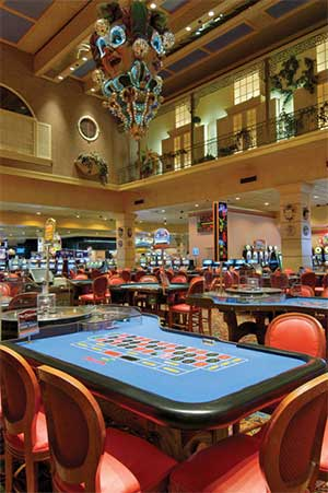 The Orleans Hotel and Casino Table Games