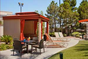 The Orleans Hotel and Casino Pool Cabana