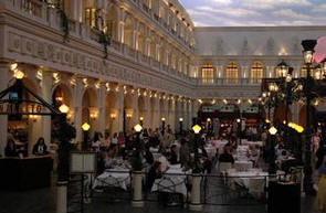 Venetian St Mark's Square Dining